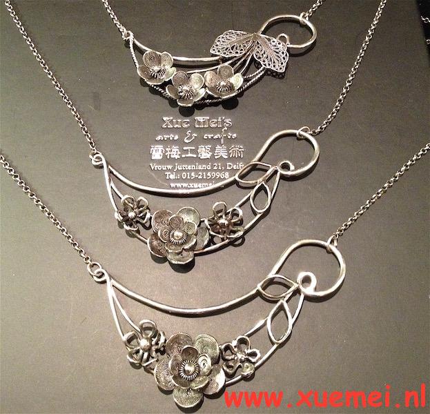 Opdracht oude zilveren sieraden vermaken