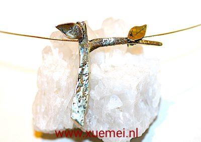 """Gouden hanger """"Levensboom (Tree of life)"""""""