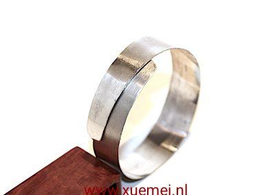 """Zilveren armband """"omarmen"""""""