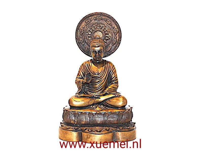 Bronzen Birma Boeddha