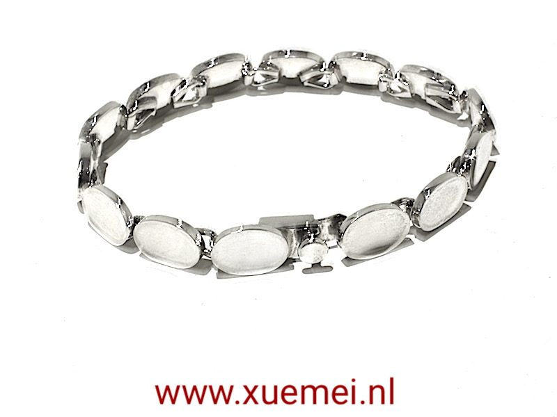 "Zilveren armband ""Queen of the castle"""