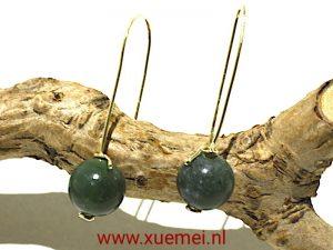 """Gouden oorbellen """"Takje & Jade"""""""