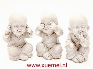 Horen Zien Zwijgen kind monniken