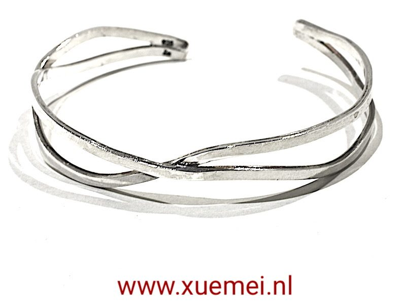 "Zilveren slavenarmband ""Perfect"""