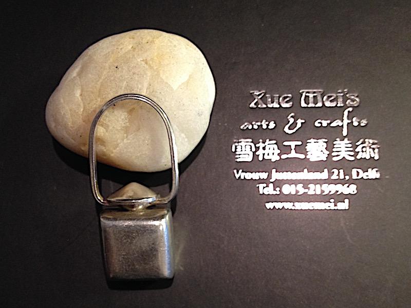Zilveren ashanger/as sieraad / memorie sieraad