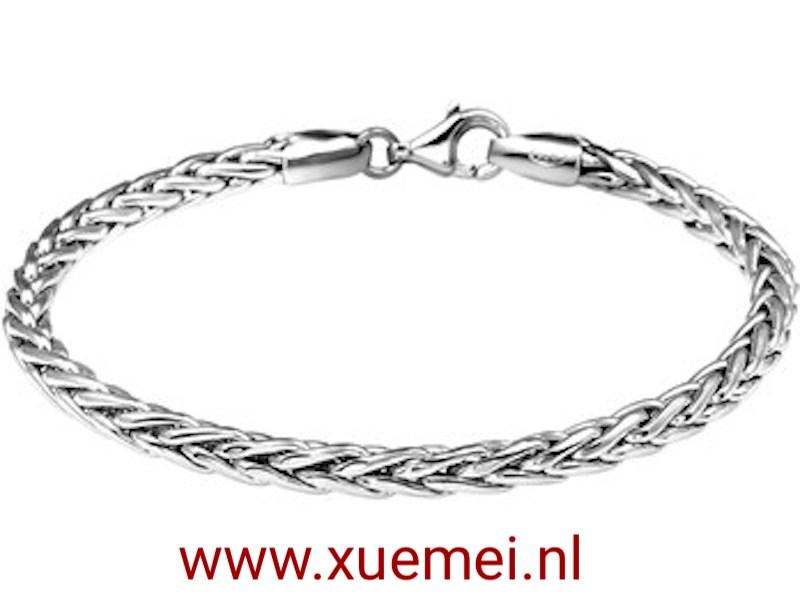vossestaart-zilveren-ketting