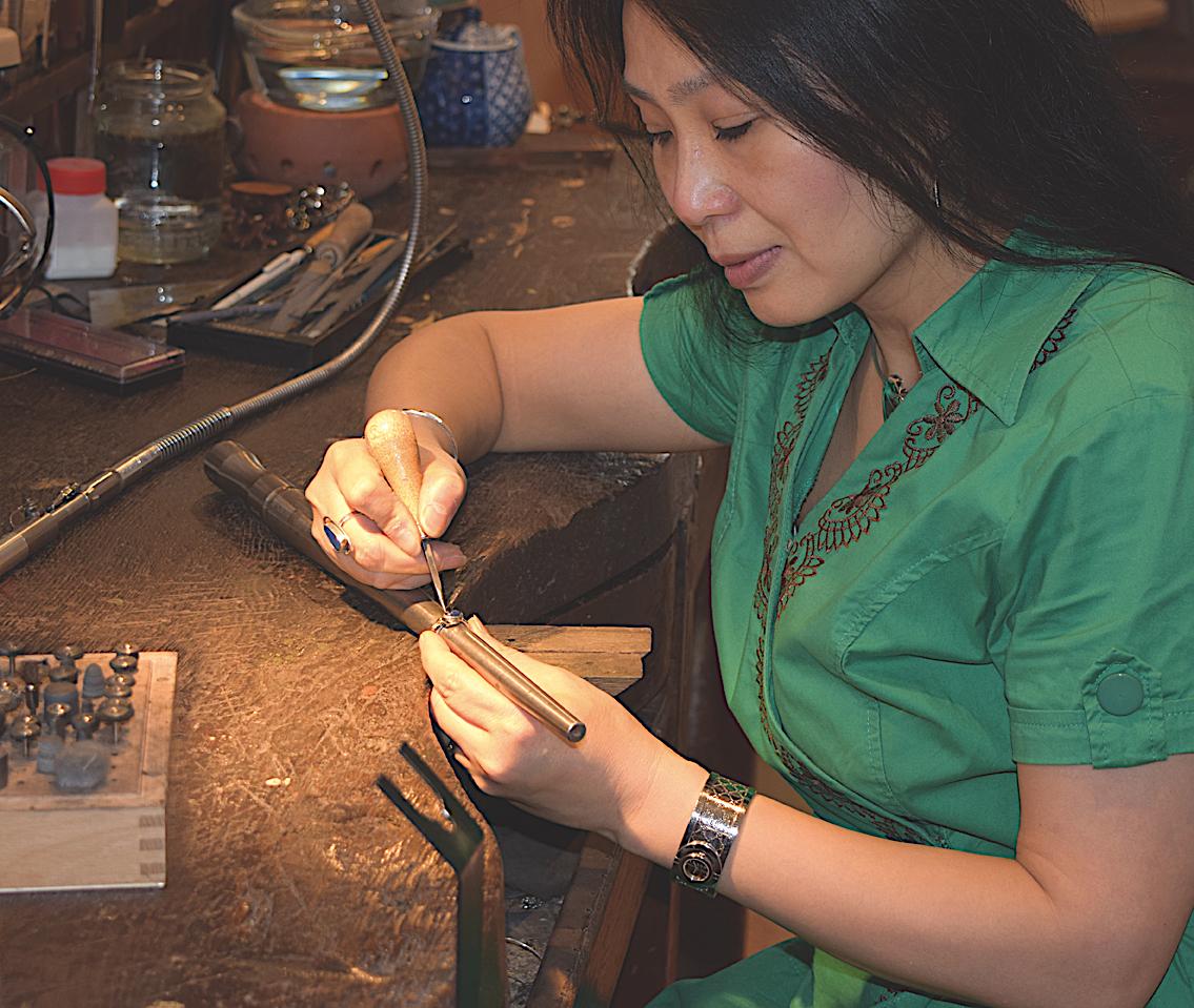 edelsmid goudsmid Xuemei Dijkstal - juwelier Delft