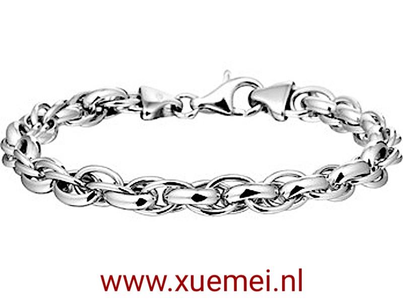 zilveren-armband-fantasie-schakel