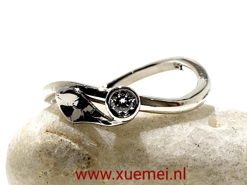 diamant-ring-trouwring-verlovingsring-edelsmid-Delft-Xuemei-Dijkstal.