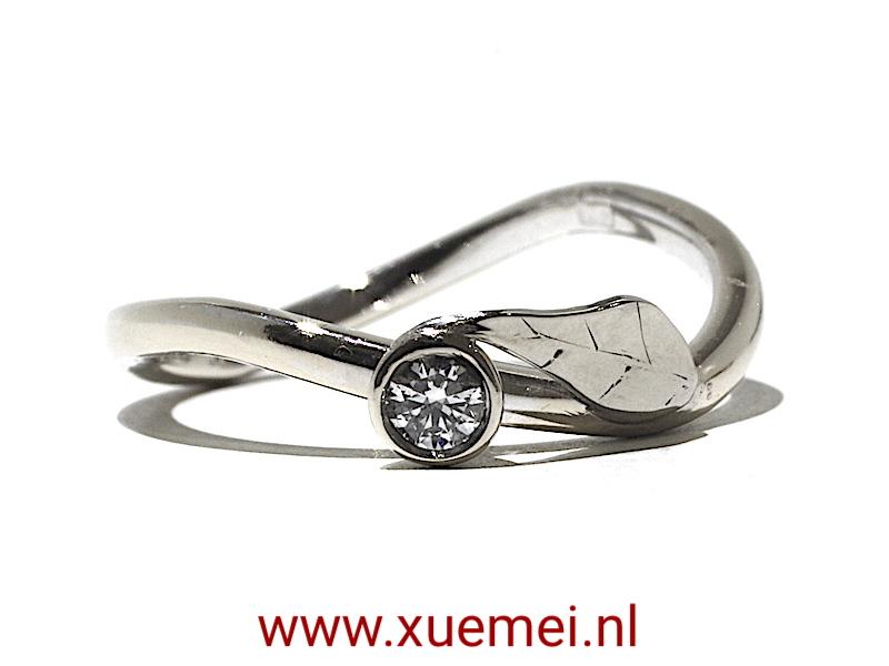 diamant-ring-verlovingsring-edlsmid-Delft-Xuemei-Dijkstal
