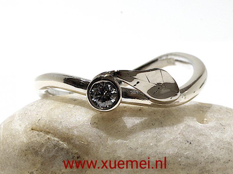verlovingsring-trouwring-juwelier-Delft-edelsmid-Xuemei-Dijkstal.