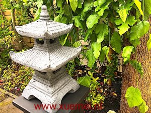 Pagode - Xue Mei - Delft - tuinbeeld