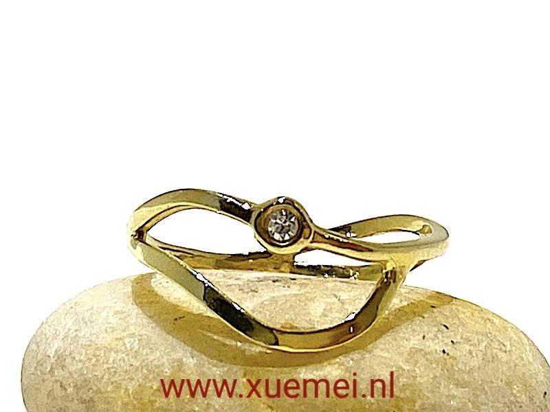 verlovingsring - diamant - goudsmid Xuemei Dijkstal