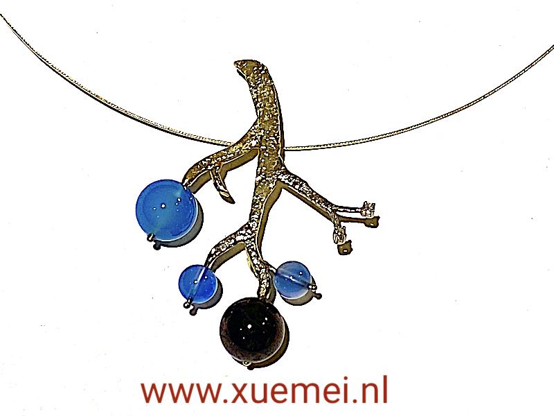 """Oude familie goud omsmelten en nieuwe sieraden maken """"Tree of 4"""""""