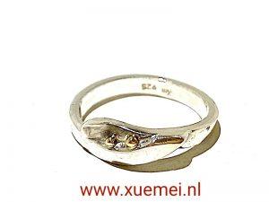zilveren ring uniek - edelsmid Xuemei Dijkstal